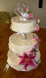 Hochzeit 4 Stockige Hochzeitstorte 4 Stockige Hochzeitstorte 4